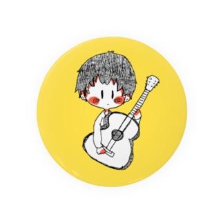 ギター少年 Badges