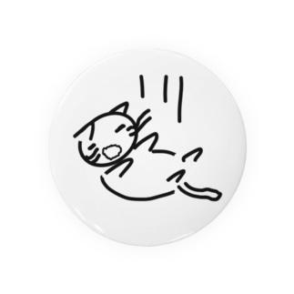 落ちている  可愛いのかどうかよくわからない猫 Badges