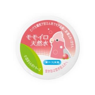 《モモイロインコ》モモイロ天然水 Badges
