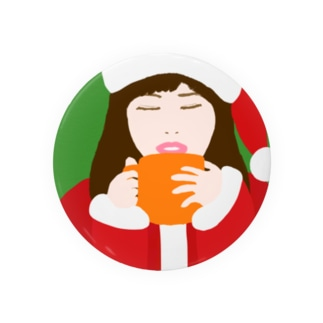 Santa Girl Badges