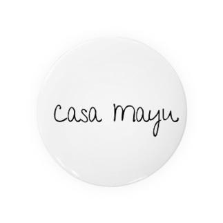 CasaMayuバッチ 缶バッジ