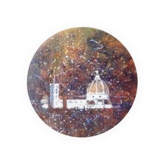 花火の夜の大聖堂 Badges
