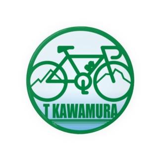 パ紋No.3300 T KAWAMURA 缶バッジ
