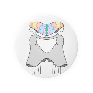 imarginal girl Badges