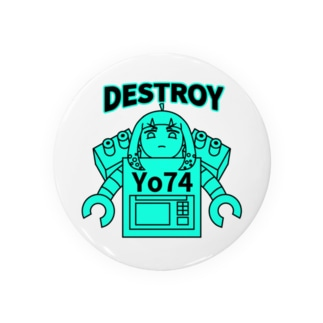 DESTROYER Yo74 Badges