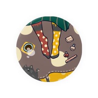 くつろぎ靴下屋さん【猫】 Badges