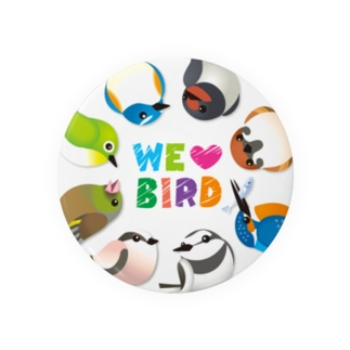WE ♥ BIRD Badges