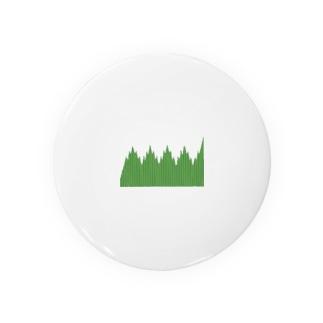 弁当のおかずを仕切る緑のやつ Badges