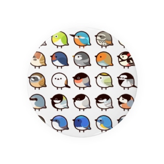 日本の小鳥 Badges
