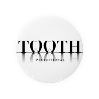 Tooth logo 缶バッジ