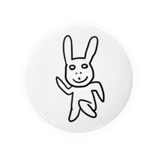 2分で描いたウサギ Badges