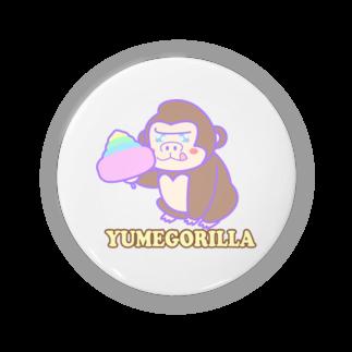 Goma46のYumeGorilla(ゆめごりら)グッズ Badges