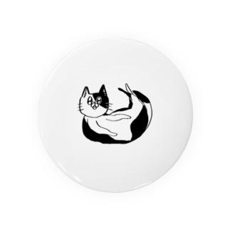 ネコチャンシンプルホワイト Badge