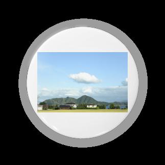 写真館のロールパンの雲 Badges