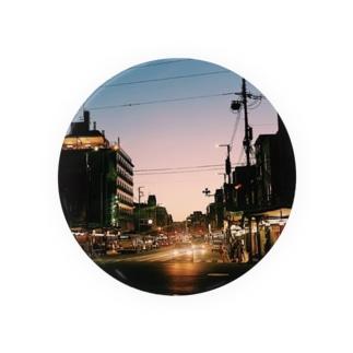 祇園の夜 Badges