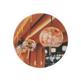 祇園の夜 風鈴 Badges