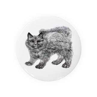 ふわふわの仔猫 Badges