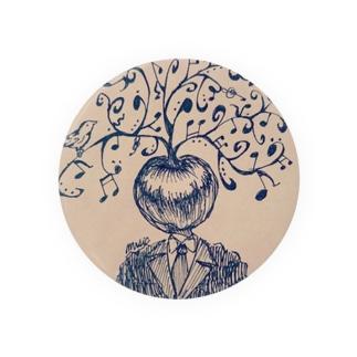 りんごさん Badges
