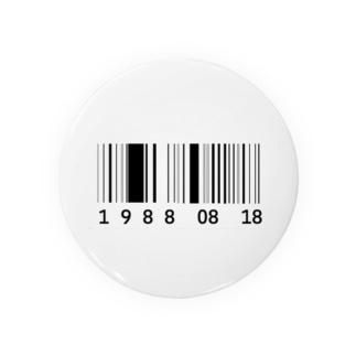 19880818 缶バッジ