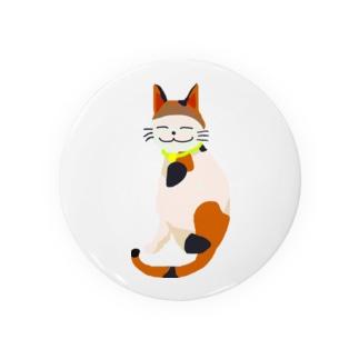 三毛猫のクー Badges