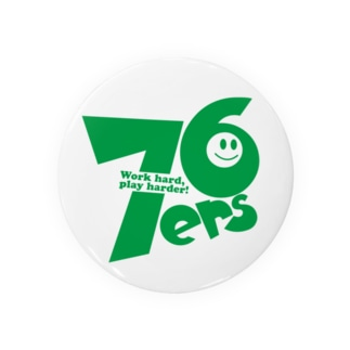 76ers(緑文字) Badges