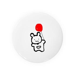 赤いふうせんくまちゃん Badges