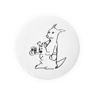 オオサカさんのカンガルー Badges