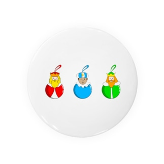 Caspar, Melchior and Balthazar.   Christmas baubles with Three Wise Men. Badges