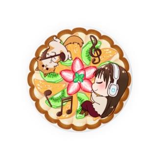 今井麻美のニコニコSSGファン感謝祭グッズ 缶バッジ