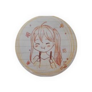 ポッキー少女 Badges
