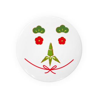 Drecome_Designの松竹梅でオヤジスマイル Badges