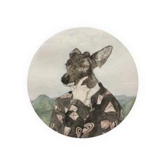 曇りと鹿男 Badges