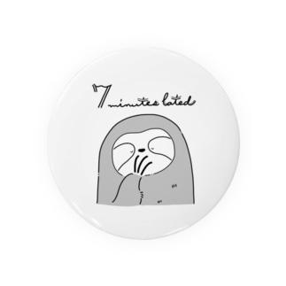 ななけもの もう眠いですのポーズ Badges