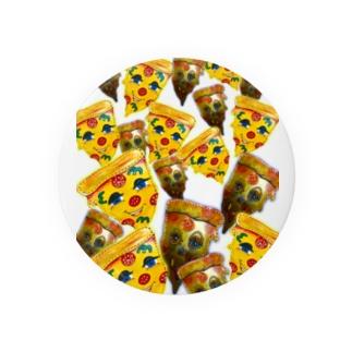 ペパロニピザ Badges