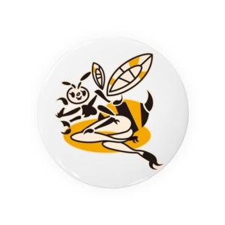 蜂ガール 缶バッジ