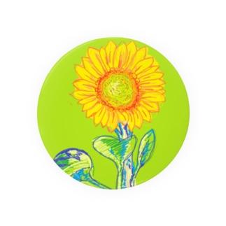 Sonnenblume 缶バッジ