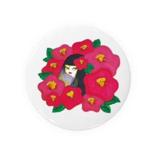 椿ガール Badges