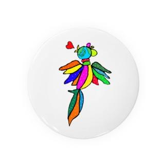 世界を跨ぐ鳥 Badges