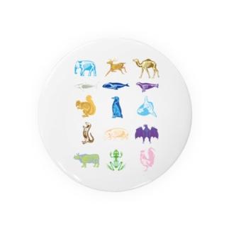 Animalia Anatomy Badges