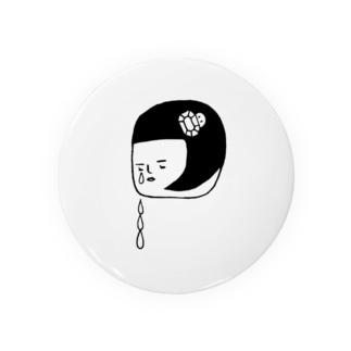 おチヤちゃん涙する Badges
