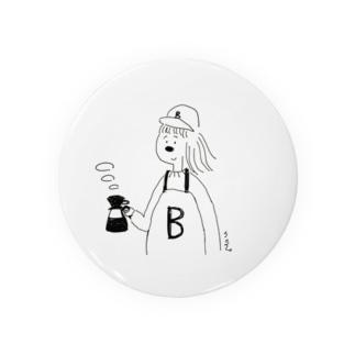 B子のコーヒー Badges