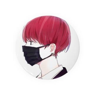 マスク男子 Badges