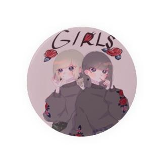 🥀GIRLS🥀缶バッチ Badges