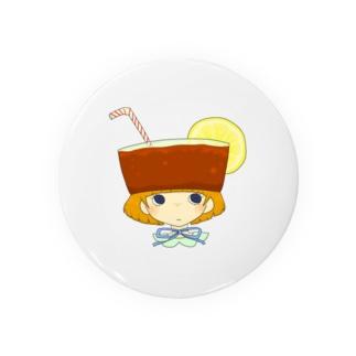 たべもの帽子*レモンティー Badges