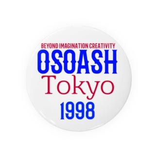 OSOASH東京BICロゴ Badges