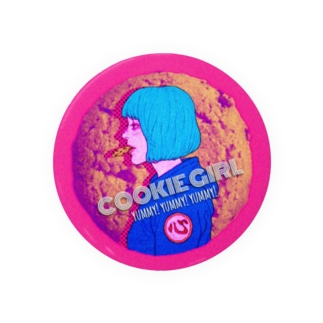クッキーガール 缶バッジ