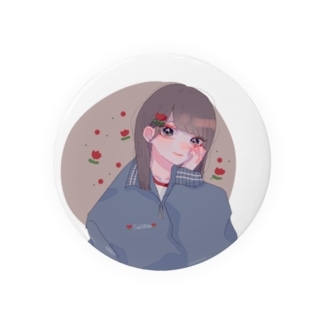 🌷girl🌷缶バッジ 缶バッジ