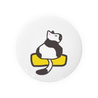 玉子焼きに乗ったネコ Badges