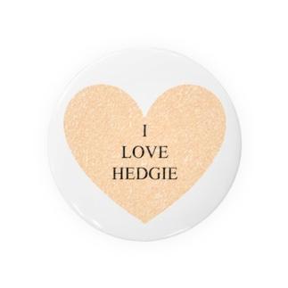 I LOVE HEDGIE Badges