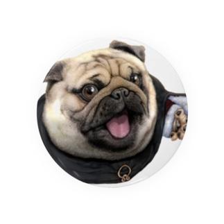 修道士 パグのパグ―グッズ Badges
